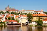czech republic, prague - hradcany castle, st. vituss cathedral and little quarter