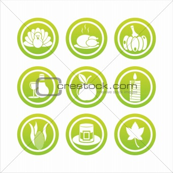 green thanksgiving day signs