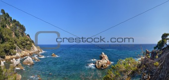 Costa Brava landscape 