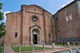 Cistercian abbey of Fontevivo. Emilia-Romagna. Italy.