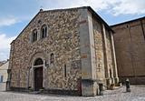 Parish church of Fornovo di Taro. Emilia-Romagna. Italy.