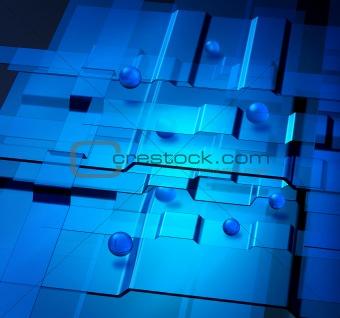Nanotechnology concept