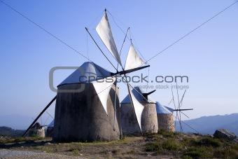 Old Windmills, Penacova, Portugal