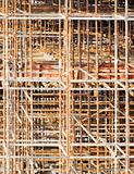 construction patterns rusty scaffold background texture