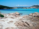 Landscape of Emerald Coast, Sardinia, Italy