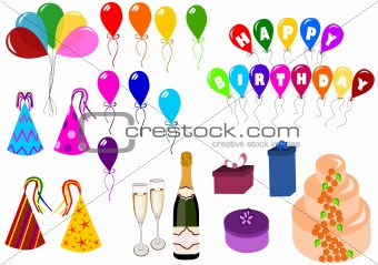 Celebration and party set
