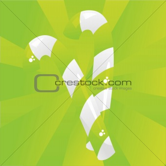 green candies background