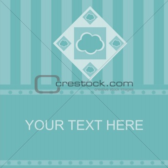 abstract cloud frame