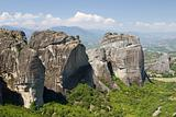 Meteora Rocks, Greece