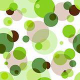 Repeating pattern with circles