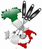 International cuisine made in Italy