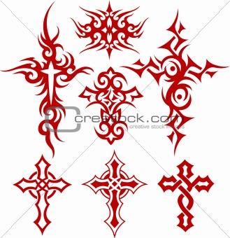 cross tribal design