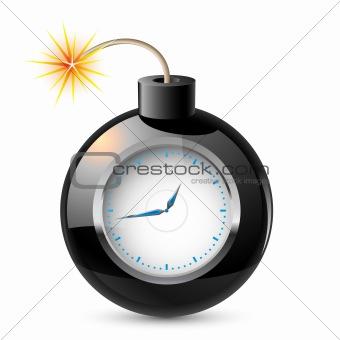Clock in a bomb