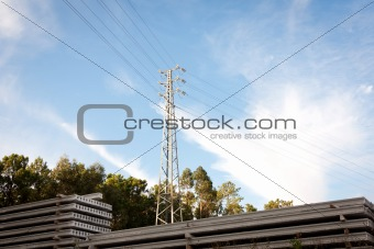 Medium Voltage Pylon 