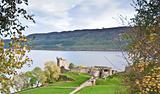 Urquhart Castle overlooking Loch Ness