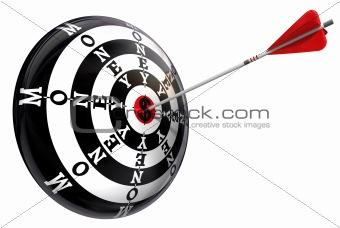 money concept target