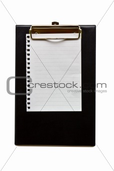 Clip board leather  2