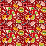 Chinese New Year seamless pattern