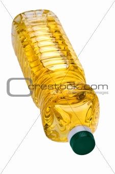 oil bottle close up