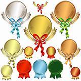 Set metallic awards