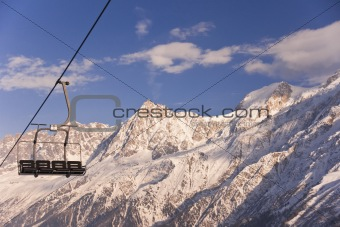 Quad Chairlift