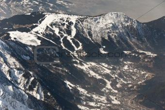Ski resort Les Houches