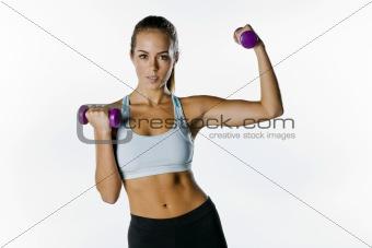 Brunette Fitness Model