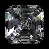 Asscher Cut Diamond top view