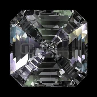 Asscher Cut Diamond top view