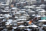 City of Veliko Tarnovo in the Winter