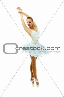 Tiptoe dance