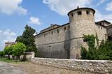 Castle of Agazzano. Emilia-Romagna. Italy.