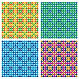 4 Seamless Candy Backgrounds