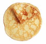 two fried pancake