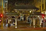 San Francisco Chinatown Gate at Night