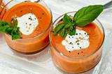 Tomato Soup Appetizer
