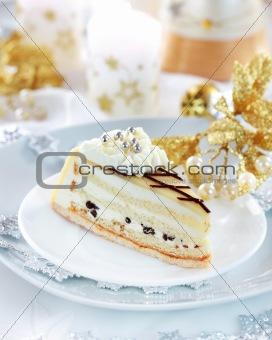 Marchpane cake for Christmas