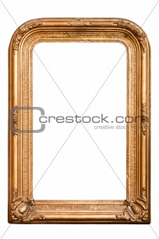 Magic mirror, very old wooden frame, (No#7)