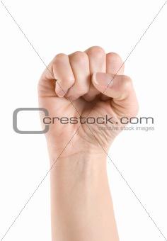 Fist hand