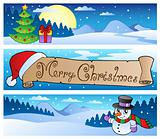 Christmas banners collection 1