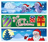 Christmas banners collection 3