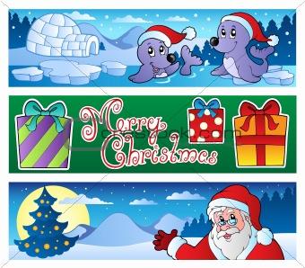 Christmas banners collection 3