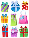 Various decorated gifts 2