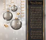 Elegant Classic Christmas Greetings