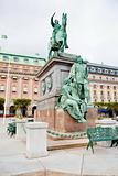 statue of Gustavus Adolphus at Gustav Adolfs torg, Stockholm