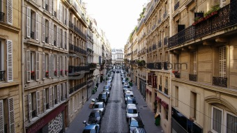 A street in a Paris