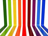 3d rainbow lines