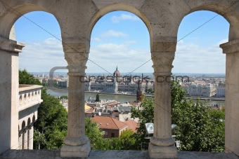 Budapest, Hungary from Fishermen's Bastion