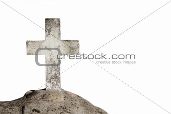 Old concrete cross