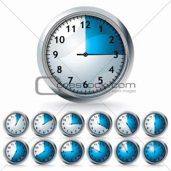 set of vector timers